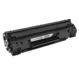 HP CF283X (No.83X) BK fekete (BK-Black) nagy kapacitású kompatibilis (utángyártott) toner