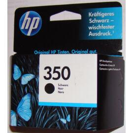 HP CB335E (No.350) BK fekete (BK-Black) eredeti (gyári, új) tintapatron