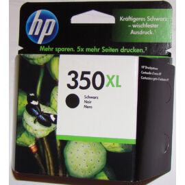 HP CB336E (No.350) XL BK fekete (BK-Black) nagy kapacitású eredeti (gyári, új) tintapatron
