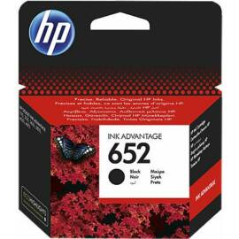 HP F6V25AE (No.652) BK fekete (BK-Black) eredeti (gyári, új) tintapatron
