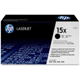 HP C7115X (No.15X) fekete (BK-Black) nagy kapacitású eredeti (gyári, új) toner