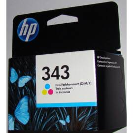 HP C8766EE (No.343) színes (C-Color) eredeti (gyári, új) tintapatron