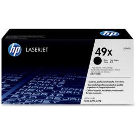 HP Q5949XD (No.49X DUPLA) BK fekete (BK-Black) nagy kapacitású eredeti (gyári, új) toner