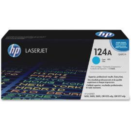 HP Q6001A (No.124A) CY cián (kék) (CY-Cyan) eredeti (gyári, új) toner
