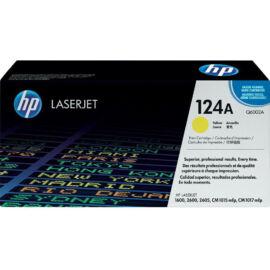 HP Q6002A (No.124A) YL sárga (YL-Yellow) eredeti (gyári, új) toner