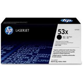 HP Q7553X (No.53X) fekete (BK-Black) nagy kapacitású eredeti (gyári, új) toner