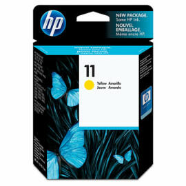 HP C4838A (No.11) YL sárga (YL-Yellow) eredeti (gyári, új) tintapatron