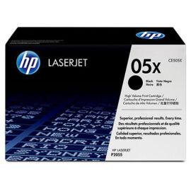 HP CE505X BK(No.05X) fekete (BK-Black) nagy kapacitású eredeti (gyári, új) toner