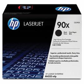 HP CE390X (No.90X) fekete (BK-Black) nagy kapacitású eredeti (gyári, új) toner