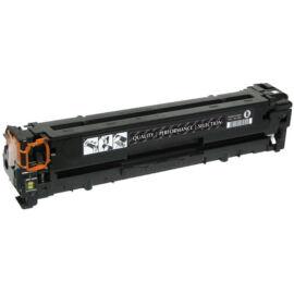 HP CE410X (No.305X) BK fekete (BK-Black) nagy kapacitású kompatibilis (utángyártott) toner