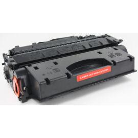 HP CE505X BK(No.05X) fekete (BK-Black) nagy kapacitású kompatibilis (utángyártott) toner