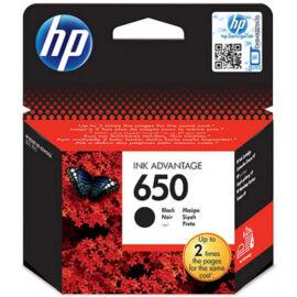 HP CZ101AE (No.650) BK fekete (BK-Black) eredeti (gyári, új) tintapatron
