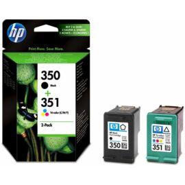 HP SD412EE (No.350-No.351) BK-C (Black-Color) eredeti (gyári, új) multipack