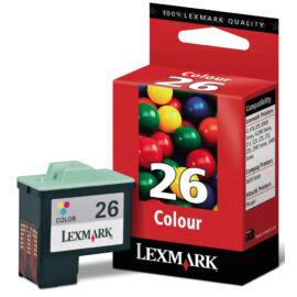 Lexmark 10N0026 (No.26) C színes (C-Color) eredeti (gyári, új) tintapatron