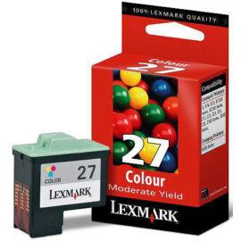 Lexmark 10N0027 (No.27) C színes (C-Color) eredeti (gyári, új) tintapatron