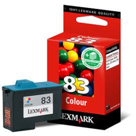 Lexmark 18L0042 (No.83) C színes (C-Color) eredeti (gyári, új) tintapatron