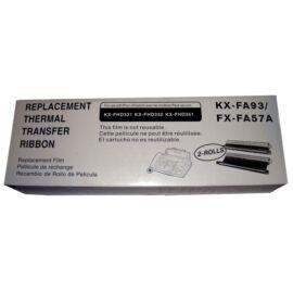 Panasonic KX-FA 57 fekete (BK-Black) kompatibilis (utángyártott) faxfilm