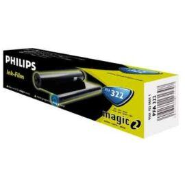 Philips PFA-321/PFA-322 BK fekete (BK-Black) eredeti (gyári, új) faxfólia