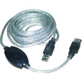 VCOM kábel USB 2.0 hosszabbítókábel + aktív erősítő 10m (CU823-10.0)