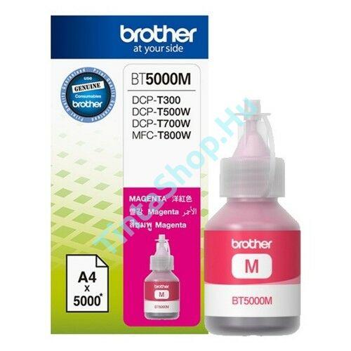 Brother BT5000 MG bíbor (piros) (MG-Magenta) eredeti (gyári, új) tintapatron