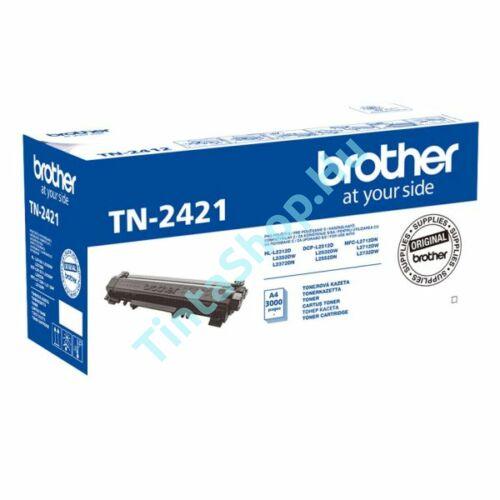 Brother TN-2421 BK fekete (BK-Black) eredeti (gyári, új) toner