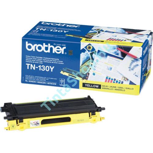 Brother TN-130 YL sárga (YL-Yellow) eredeti (gyári, új) toner