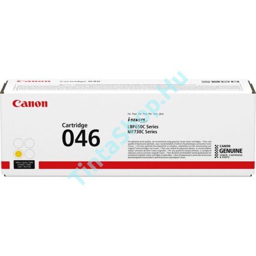 Canon CRG-046 YL sárga (YL-Yellow) eredeti (gyári, új) toner