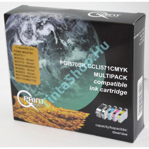 Canon PGI570/CLI571 BCMY (CHIPES) kompatibilis (utángyártott) multipack