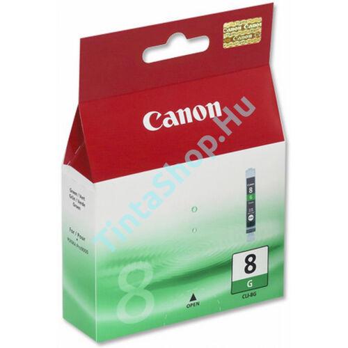 Canon CLI-8 GR zöld (GR-Green) eredeti (gyári, új) tintapatron