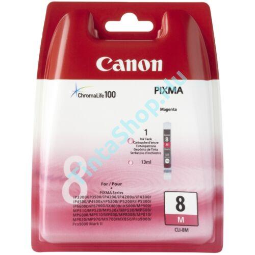 Canon CLI-8 MG bíbor (piros) (MG-Magenta) eredeti (gyári, új) tintapatron