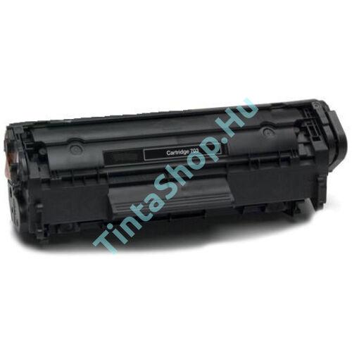Canon CRG-703 BK fekete (BK-Black) kompatibilis (utángyártott) toner