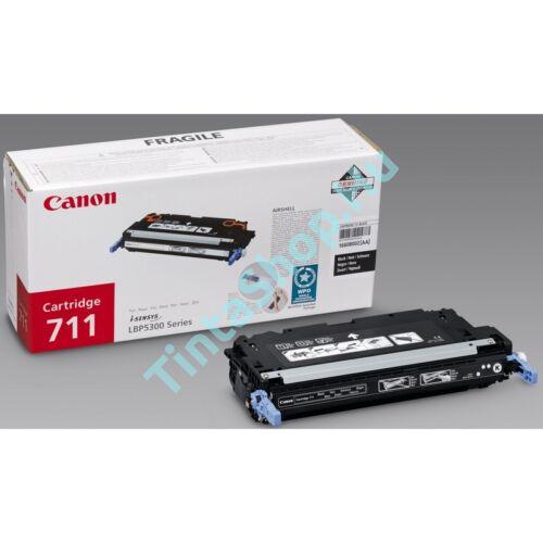 Canon CRG-711 BK fekete (BK-Black) eredeti (gyári, új) toner