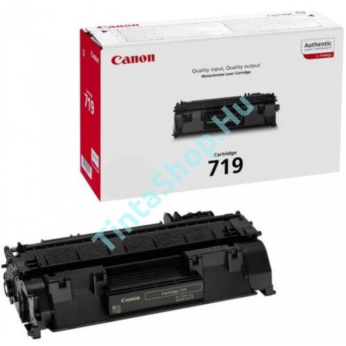 Canon CRG-719 BK fekete (BK-Black) eredeti (gyári, új) toner