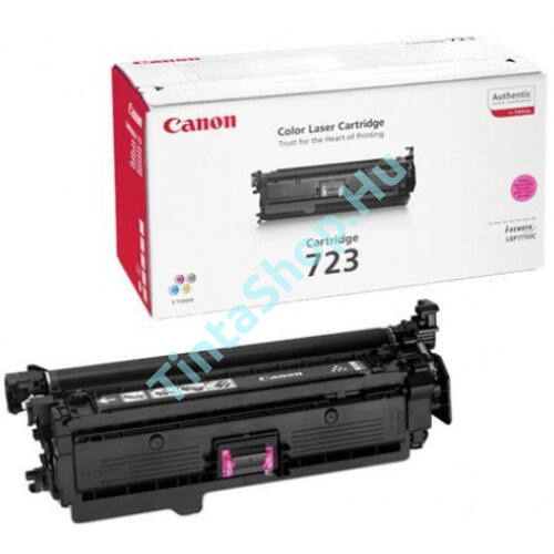 Canon CRG-723 MG bíbor (piros) (MG-Magenta) eredeti (gyári, új) toner