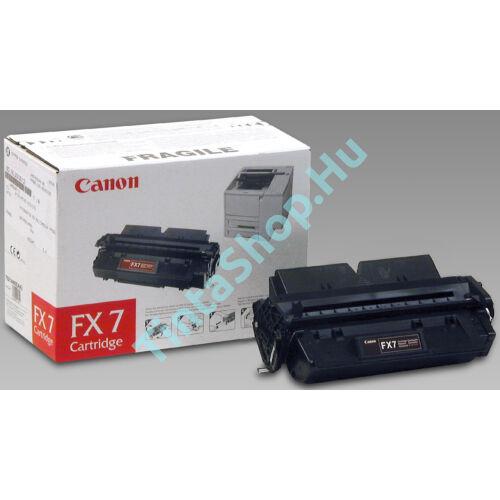 Canon FX-7 BK fekete (BK-Black) eredeti (gyári, új) toner