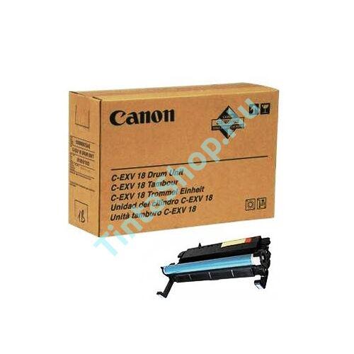 Canon IR 1018 (C-EXV 18) BK fekete (BK-Black) eredeti (gyári, új) dobegység