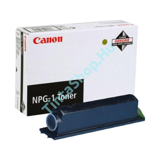 Canon NPG-1 (1550,2020,6020,6216,6220,6317,6320) BK fekete (BK-Black) eredeti (gyári, új) toner