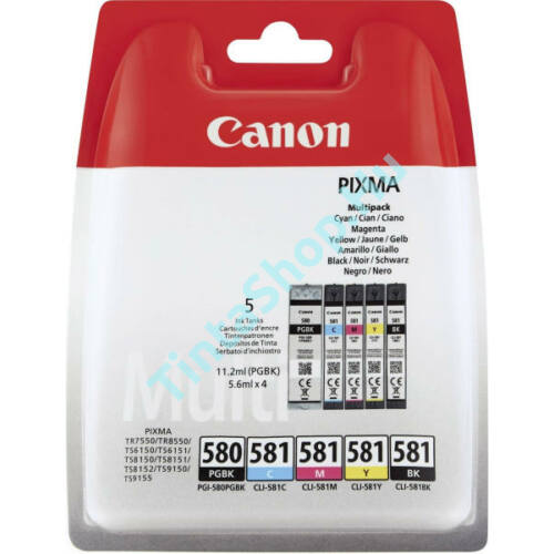 Canon PGI-580 / CLI-581 eredeti (gyári, új) multipack