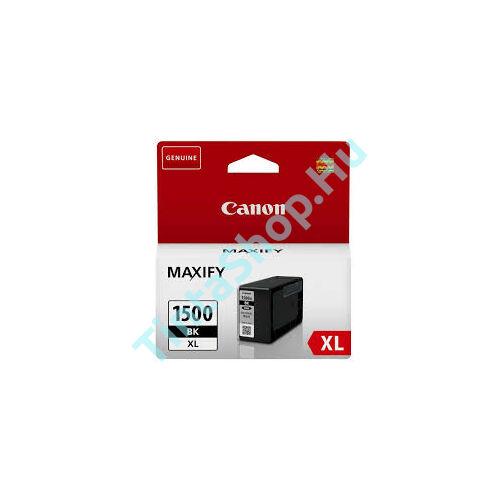 Canon PGI-1500 BK XL fekete (BK-Black) nagy kapacitású eredeti (gyári, új) tintapatron