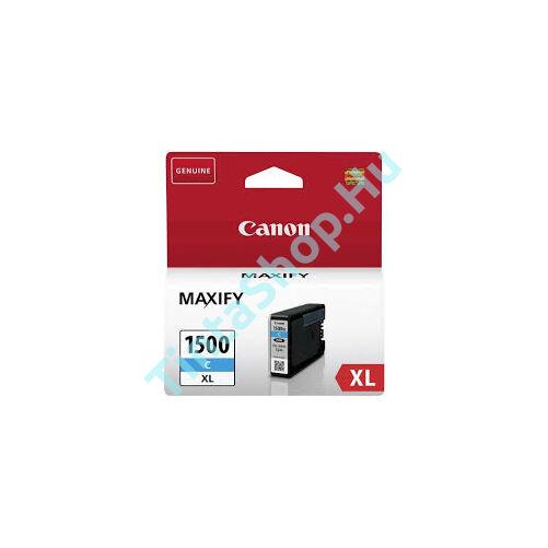 Canon PGI-1500 CY XL cián kék (CY-Cyan) nagy kapacitású eredeti (gyári, új) tintapatron