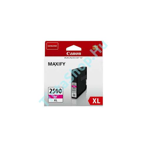 Canon PGI-2500 MG XL bíbor (piros) (MG-Magenta) nagy kapacitású eredeti (gyári, új) tintapatron