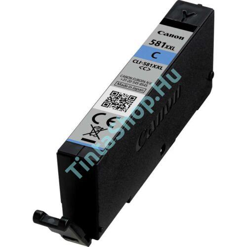 Canon CLI-581 CY XXL cián (kék) (CY-Cyan) nagy kapacitású kompatibilis (utángyártott) tintapatron