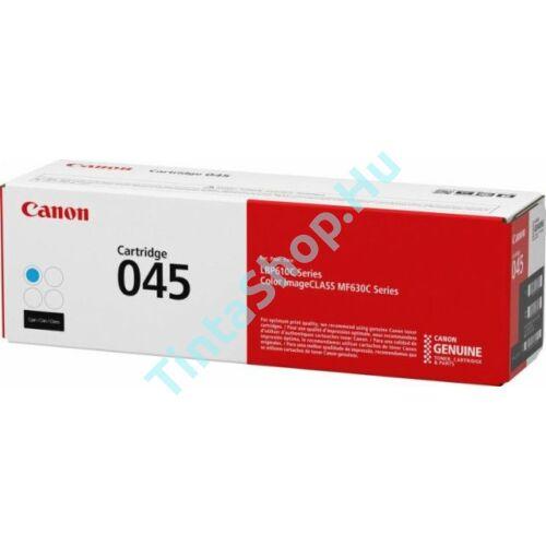 Canon CRG-045 CY cián (kék) (CY-Cyan) eredeti (gyári, új) toner