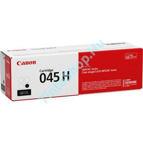 Canon CRG-045H BK fekete (BK-Black) nagy kapacitású eredeti (gyári, új) toner