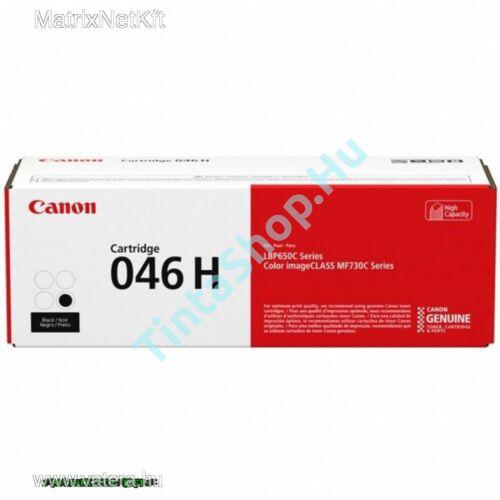 Canon CRG-046H BK fekete (BK-Black) nagy kapacitású eredeti (gyári, új) toner