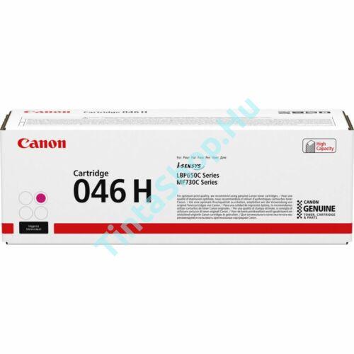 Canon CRG-046H MG bíbor (piros) (MG-Magenta) nagy kapacitású eredeti (gyári, új) toner