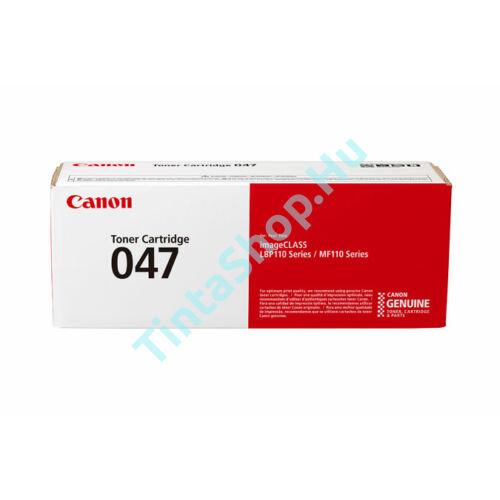 Canon CRG-047 BK fekete (BK-Black) eredeti (gyári, új) toner