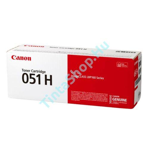 Canon CRG-051H BK fekete (BK-Black) nagy kapacitású eredeti (gyári, új) toner