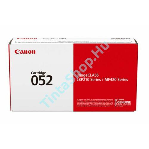 Canon CRG-052 BK fekete (BK-Black) eredeti (gyári, új) toner