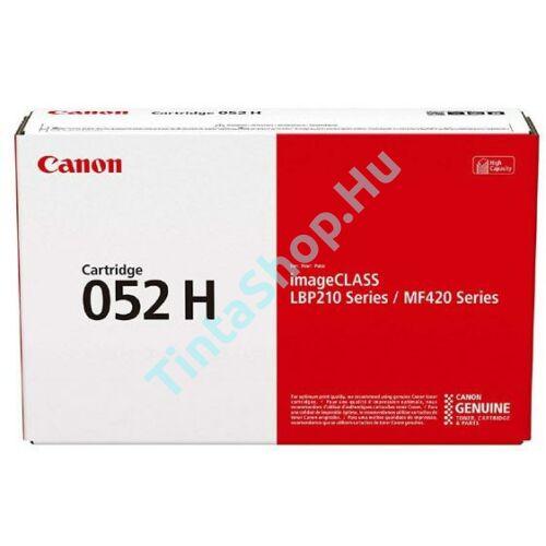 Canon CRG-052H BK fekete (BK-Black) nagy kapacitású eredeti (gyári, új) toner